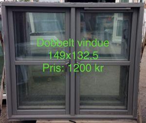Sidehængt vindue 149x132,5 OF013