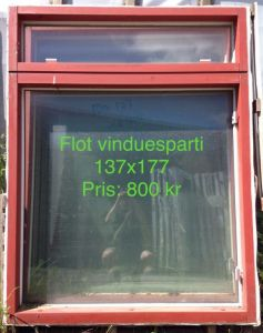 Vinduesparti 137x177 OF032