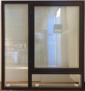 Krone træ/alu vindue 149 x 152 - OF160