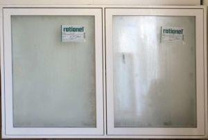 Nyt Rationel vindue - Tophængt - mål 182 x 119