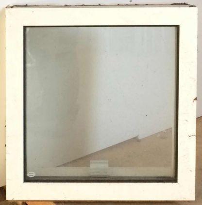 tophængt træ/alu vindue - OF187 - mål 59 x 59